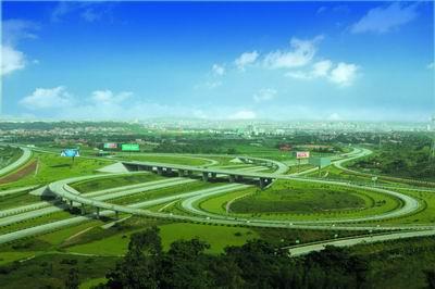 广西高速公路路景