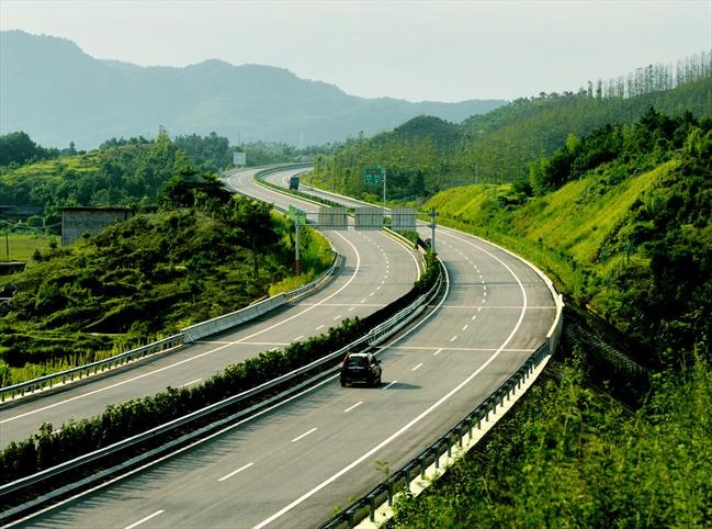 赣州高速公路精彩图片