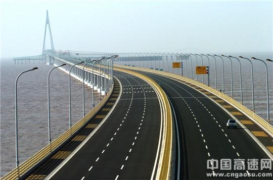 浙江:杭州湾跨海大桥连续8年蝉联全省高速公路养护管理考核第一名