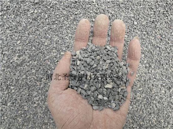 供应邢台园林建设用透水混凝土石子,邢台透水石子厂家